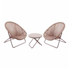 2 Chairs And Table Rattan Dental Assistant Tobs Faux Folding Chair Lounge Set Zoom