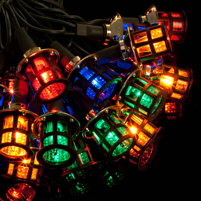 Noma 40 Victorian Lanterns Christmas Lights Multicolour