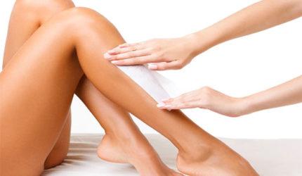 Wax legs