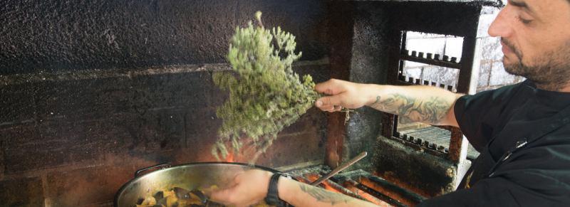 Greek - Cretan local traditional cuisine
