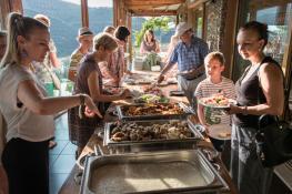 Βοτανικό Πάρκο και κήποι Κρήτης: Παραδοσιακό Κρητικό Φαγητό