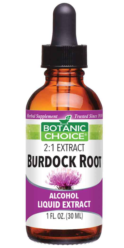 Botanic Choice Burdock Root Liquid Extract - Liver and Kidneys Support - 1 Oz