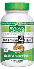 Vitamins 4 Hair 120 tablets