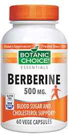 Berberine 500 Mg 60 Vegetarian Capsules