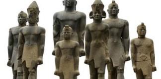 Nubian Pharaohs Image: Wikimedia Commons.