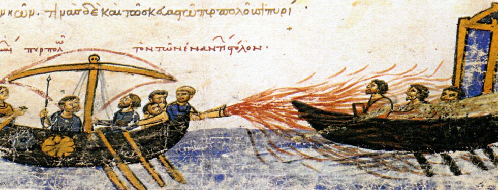 Image: From the Synopsis of Histories by John Skylitzes, 12th century.