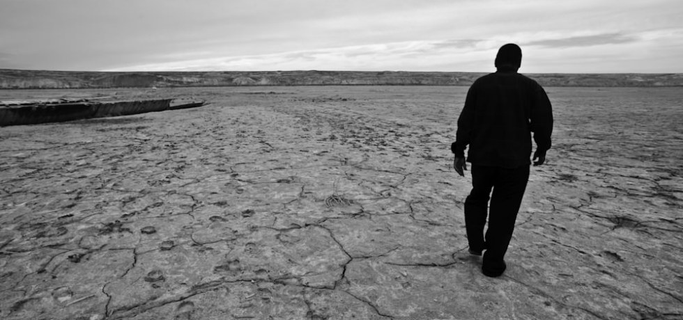 The Dry Aral Sea