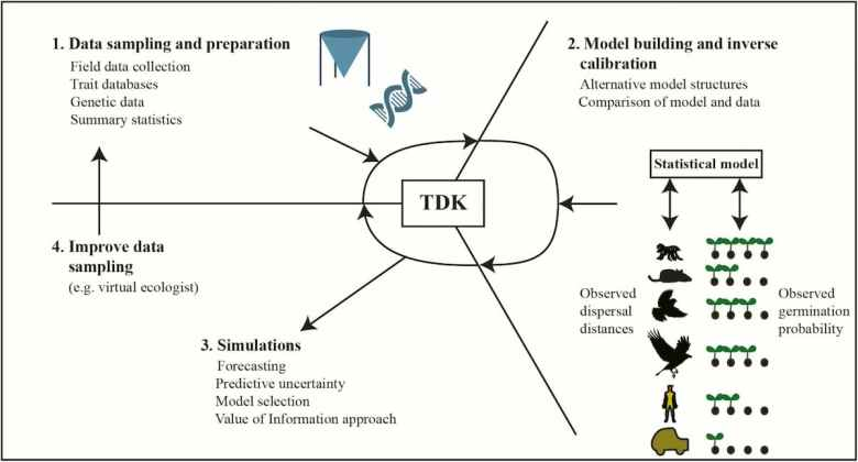 the total dispersal kernel workflow