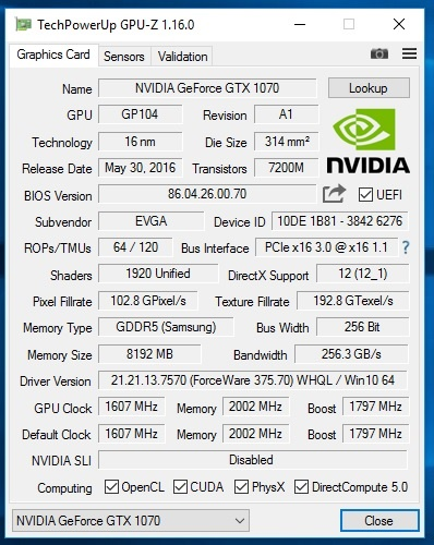 GPU-Z-INFO