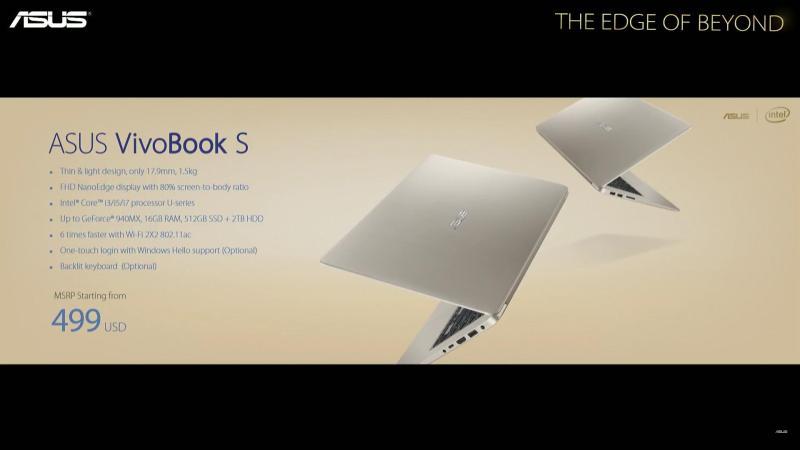 ASUS-VivoBook-S15-Specs-Price-Computex2017