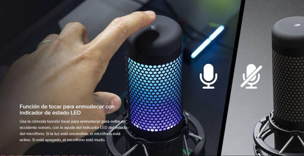 MICROFONO-HYPERX-QUADCAST-LED-TACTIL