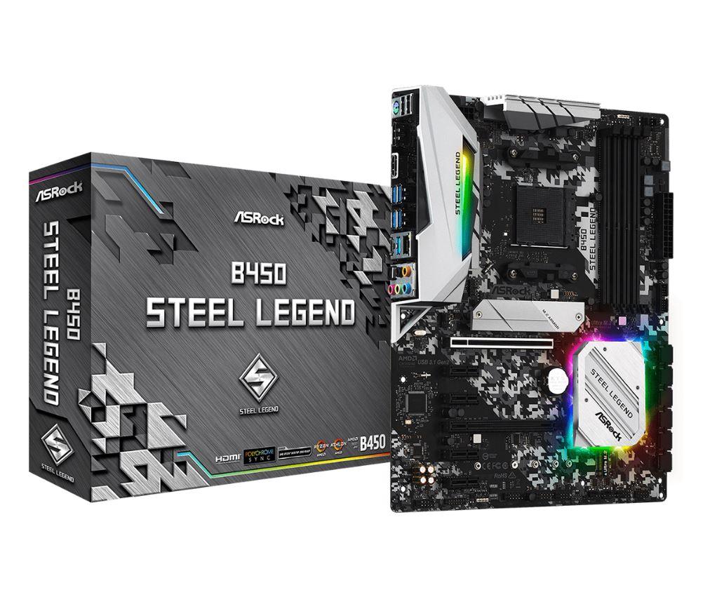 ASROCK B450 Motherboards AMD RyZEN 5000 BIOS