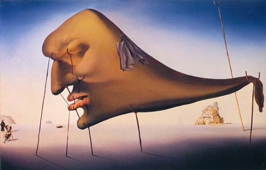 Salvador Dalí - Sleep (1937)