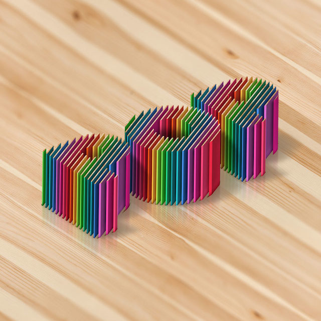Luke Lucas - Tipografia 3D