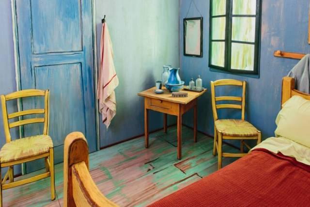 alugue o quarto do Van Gogh!