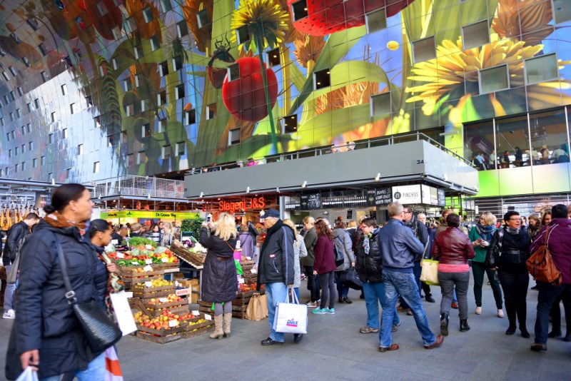 o que teve no What Design Can Do 2016 - FAAP - Markthal