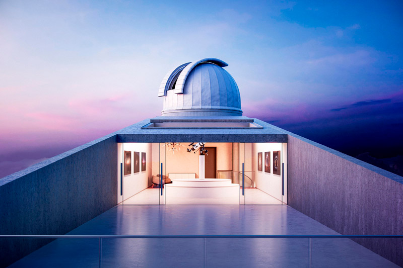 Observatorio Star Wars - Boteco Design