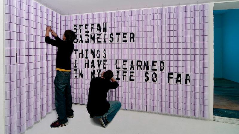 Pixel Show 2017 - Stefan Sagmeister - Boteco Design
