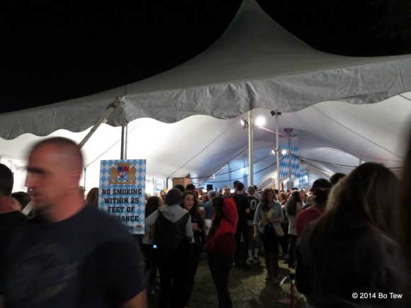 That's part of the main tent.