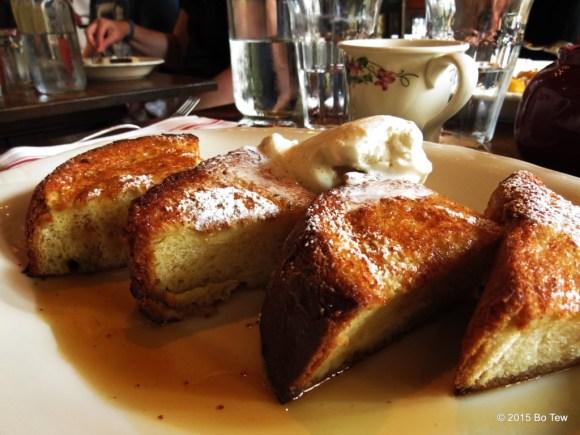 The god like french toast @ The Dandelion.