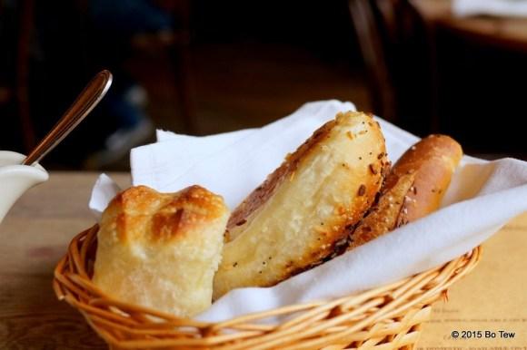 Decent bread.