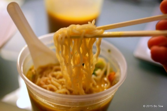 Springy Ramen Noodle!