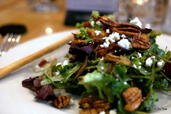 Tasty salad! Candied Pecan. CANDIED.