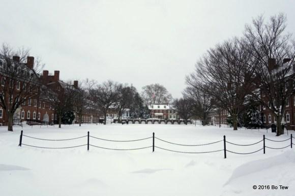 The Green, University of Delaware.