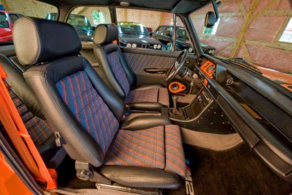 BMW 2002tii interior