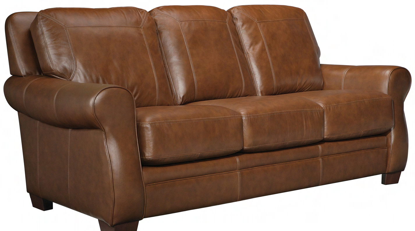 leather sofa furniture stores nyc costco recliners leathercraft craft orangeville stationary