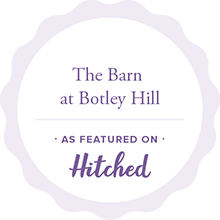 The Barn at Botley Hill Featured on Hitched Badge