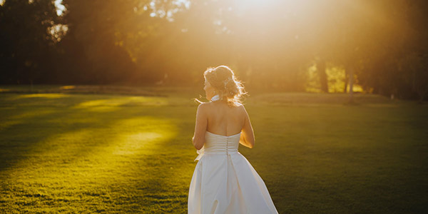 Bride Sunrise by Susie Evans