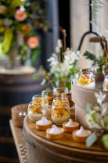 Kalm Kitchen catering at The Barn at Botley Hill