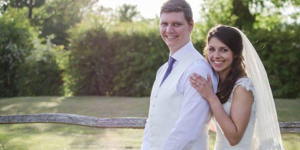 Bride and groom by Darren Foard