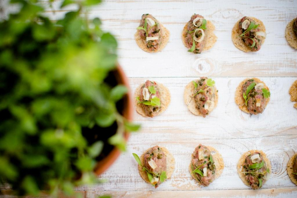 Two Many Cooks at The Barn at Botley Hill, Surrey - canapes