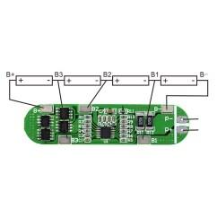 4s Bms Wiring Diagram Murray Lawn Mower Ignition Switch Li Ion 18650 Charger Pcb Prot Board 14 4v 16 8v 6a Botnroll Com