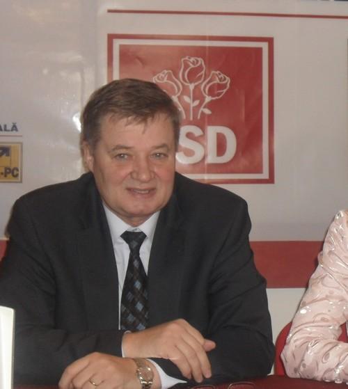 Gheorghe Marcu, presedintele PSD Botosani
