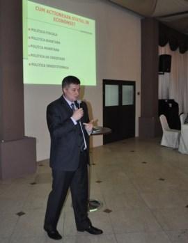 Gheorghe Marcu la dezbaterea de la Casa Lux