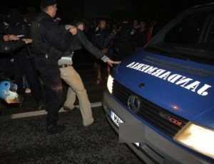 Masina Jandarmerie si jandarmi