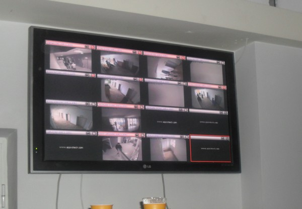 monitor video Spitalul Judetean