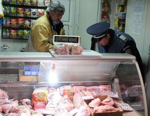 actiune Politie hala de carne