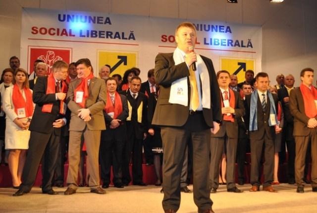 Florin Turcanu la lansarea candidatilor USL