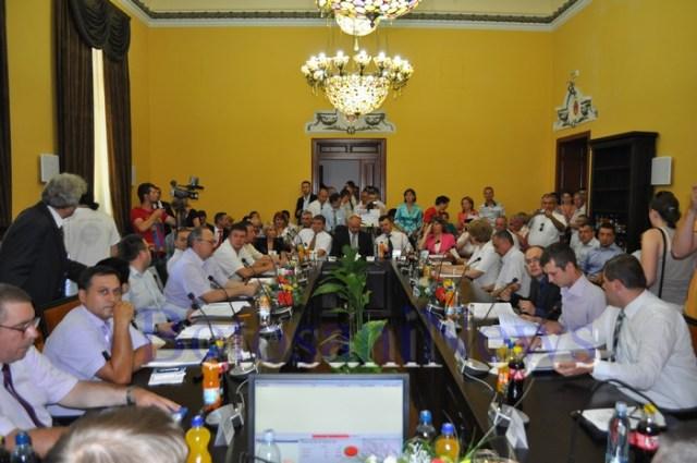investire Portariuc Ovidiu si constituire Consiliul Local 003