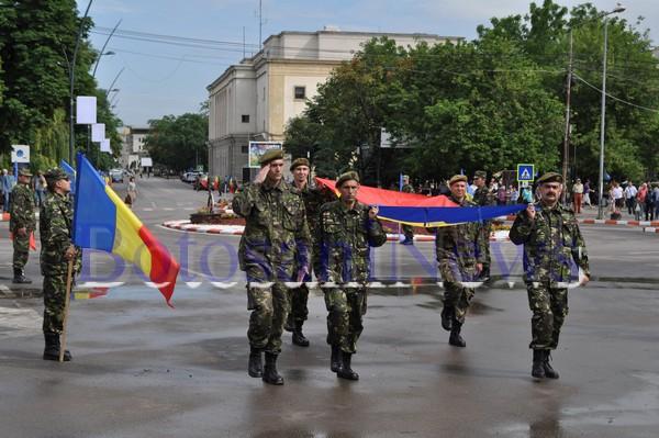 parada militara de Ziua drapelului