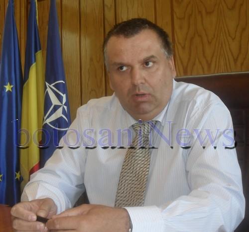 Adrian Constantinescu, prefectul judetului Botosani