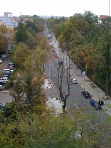 Bulevardul Mihai Eminescu de sus