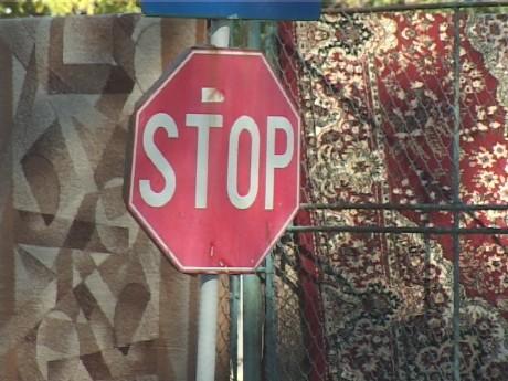 Indicator stop