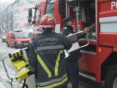 pompieri din Botosani
