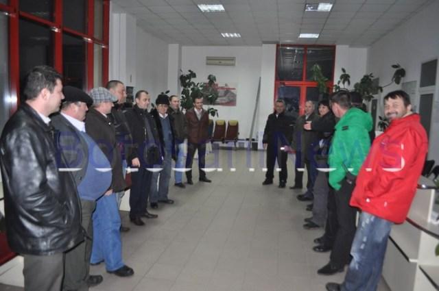 protest transportatori FORT Botosani