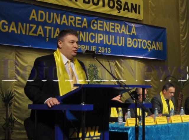 alegeri PNL Botosani- Florin Turcanu